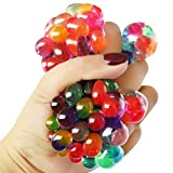 VIBGYOR Stress Ball for Releiving Stress, Anxiety / Latest Anti Stress Grapes Ball