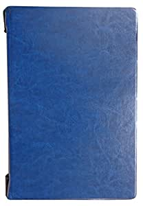 "Rtek Leather Flip Cover with PVC Back Case for Lenovo Yoga B8000 B8080 10"" Tab (Blue)"