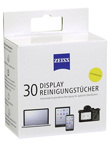 ZEISS Display-Reinigungstücher (30 Stk.) zur schonenden & gründlichen Reinigung Ihres Tablets