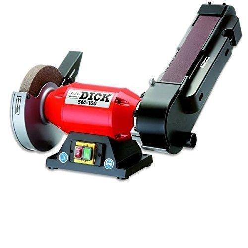 Dick Bandschleifmaschine SM - 100 Schleifgerät Bandschleifer Messerschleifer 98070000