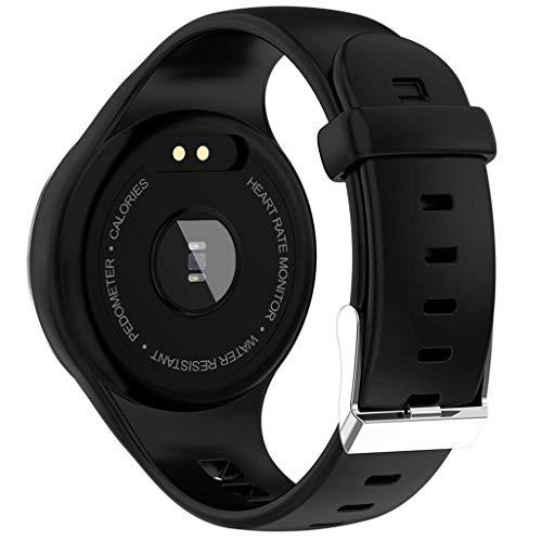 Imagen de lhmzniy 2019 m8 hombres mujeres reloj inteligente rastreador de ejercicio deportivo pulsera bluetooth paso medición de la presión arterial frecuencia cardíaca ip67 a prueba de agua alternativa
