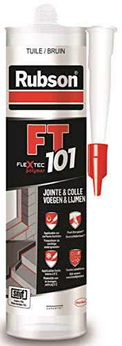 Rubson FT101 Ton Tuile, Mastic Polymère Multi-Matériaux, pour tous types de Joints, Réparation...