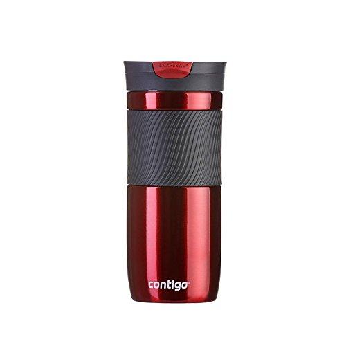 Contigo 10120806C00000310 Trinkflasche, Plastik, rot, 8 x 8 cm (Preis Der Kontaktlinsen)