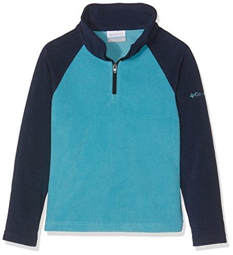 Columbia Mädchen Glacial Sportswear 1/2 Zip Fleece S Pacific Rim/Collegiate Navy 1/2 Zip Fleece-navy