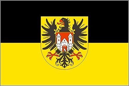 U24 Aufkleber Quedlinburg Flagge Fahne 15 x 10 cm Autoaufkleber Sticker