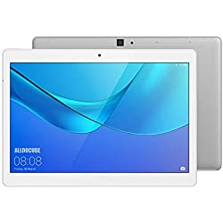 ALLDOCUBE M5X 4G Tablet PC, 10.1 Pulgadas 2560x1600, MTK X27 Deca Core, 4GB RAM y 64GB ROM, Android 8.0, Doble cámara Frontal 2 MP Trasera 5 MP, GPS,Bluetooth 4.2, Color Plateado