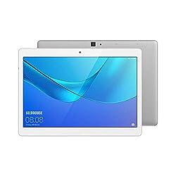 ALLDOCUBE M5X 4G Tablet, 10.1 Zoll 2560x1600 JDI Bildschirm Tablet-PC mit SIM Karte, MTK X27 Deca Core, 4GB RAM, 64GB ROM, Android 8.0, 2MP/5MP, Silber