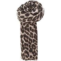 LILICAT❋ Moda Otoño e Invierno Mujer Invierno Leopardo Grueso Cachemira Bufanda Larga y Suave Mantón Abrigo (Rojo, marrón, Blanco)