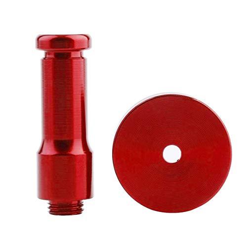 Platzsparende aluminium diy handtuch wandhaken nagel bad küche kleidung schlüssel hut rack tasche aufhänger halter (farbe: rot)