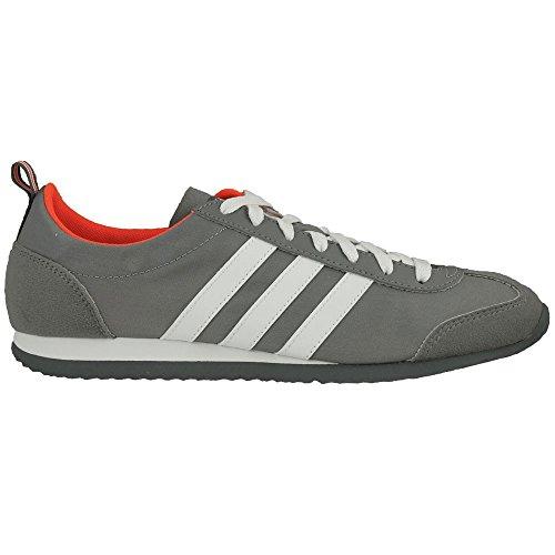 adidas Vs Jog, Chaussures de Running Entrainement Homme gris - Gris (Gris / Ftwbla / Rojsol)