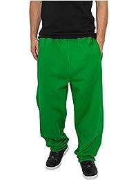 Urban Classics Bekleidung Sweatpants pantalones de deporte para hombre verde C.Verde