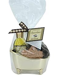 Gloss! Baignoire de Bain Chocolate 3 Pièces