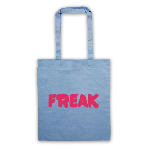 Freak Slogan Borsa Sky Blue