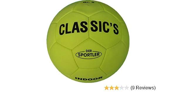 Top Hallenfußball Indoor Hallenball Velour Gr.4 NEU  Classic/'s  B-Ware