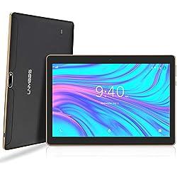 LNMBBS Tablette Tactile 10 Pouces - Android 9.0 , 64Go, 4Go de RAM, 3G Doule SIM, WiFi/Bluetooth/GPS/OTG(Noir) ...