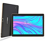 LNMBBS Tablet Android 9.0 da 10 '' con WiFi 4 GB di RAM e 64 GB di memoria Tablet PC Processore quad-core e slot Dual SIM e una fotocamera GPS OTG con slot TF (Nero)