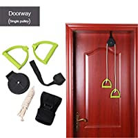 sycamorie Over The Door Shoulder Pulley for Physical Therapy Exercises, Neck Cervical Traction Device, Helps Neck Pain, Arthritis, Disc Bulges