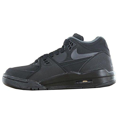 Nike Air Flight 89 GS Black Black Youths Trainers Black