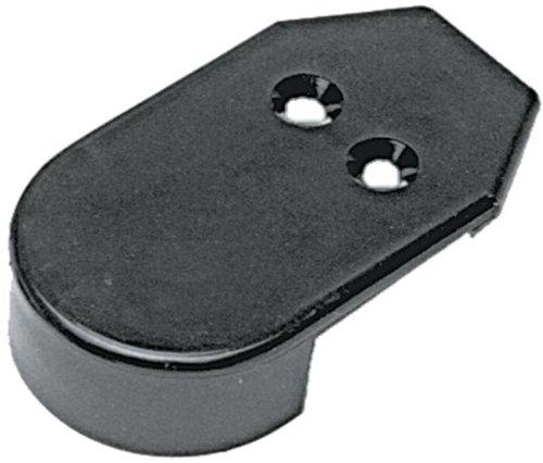 Taco Metals Nylon Rub Schiene Endkappen für VII 3447, VII 4012, 1,85Paket Paar - Flush-mount-schiene