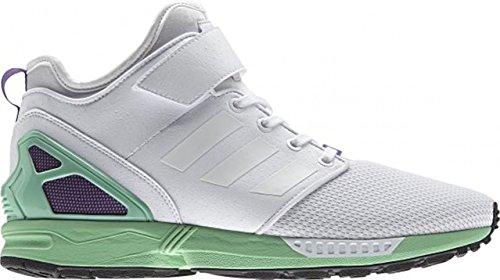 adidas Herren Sneaker ZX Flux NPS Mid grau White