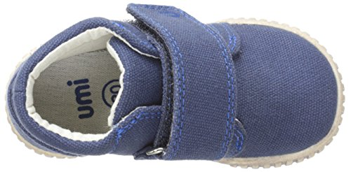 Umi Bodi Jungen Hausschuhe Blau (Marineblau)