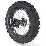 "Roue 12"" arrière Racing - ø15mm - Dirt bike / Pit bike / Mini Moto"