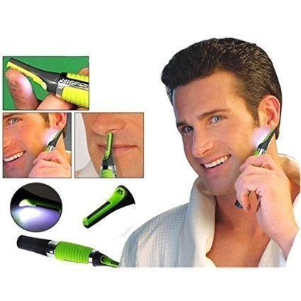 Crown Ganesh Micro Touch Max Ear, Nose & Eyebrow Hair Trimmer (15 x 4 x 2.5)