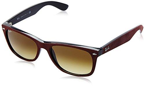 Ray-Ban Herren Sonnenbrille Rb 2132, Red Alcantara, Large (Herstellergröße: 58)