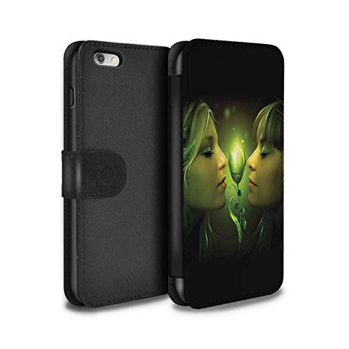 Officiel Elena Dudina Coque/Etui/Housse Cuir PU Case/Cover pour Apple iPhone 6S+/Plus / Relation amicale Design / Art Amour Collection Relation amicale