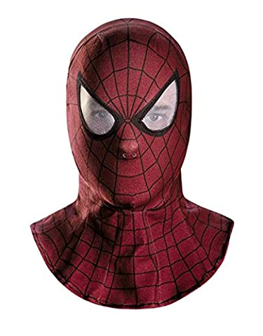 Amazing Spiderman 2 Costume Accessory, Mens Movie Mask