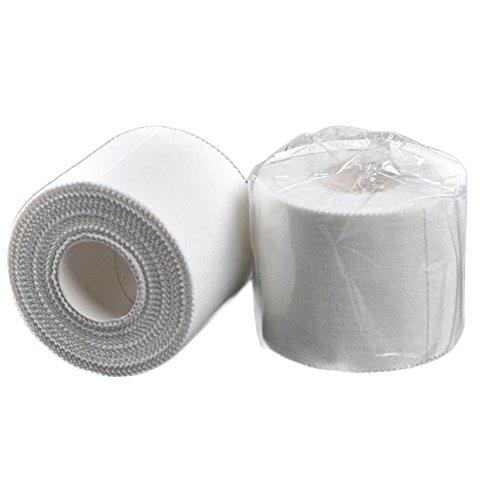 Pepional Weiße Bandage Band Gamaschen Beschützer Für Verstauchungen Erste Hilfe Sport Schutz Medizinische Versorgung Länge 9,14 Mt 3
