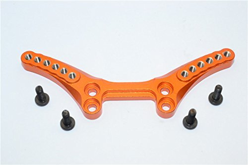 HPI Sport 3 Flux Tuning Teile Aluminium Front Shock Tower - 1Pc Set Orange