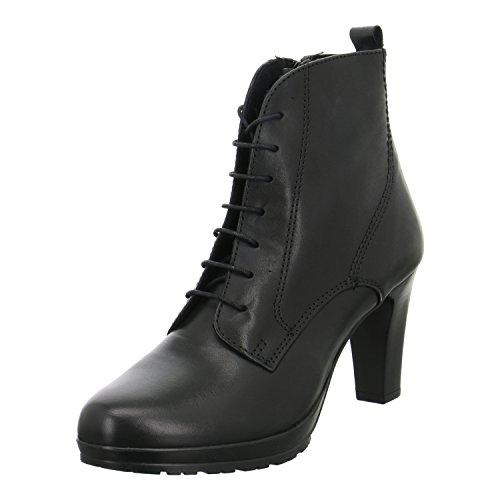Tamaris Damenschuhe 1-1-25230-27 Damen Schnürstiefelette, Stiefel, Boots schwarz (BLACK), EU 38