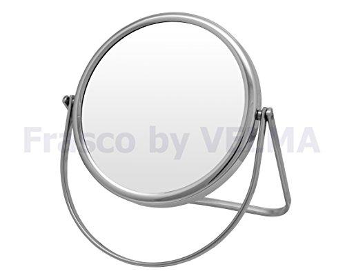 Frasco by VELMA RS160-5x - Handgefertigter 2-Seitiger Reise- Hand- Stand-Kosmetikspiegel mit...