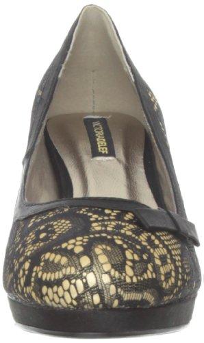 Victoria Delef Dressy Shoe, Escarpins Bout ouvert femme Or - Gold (ORO)