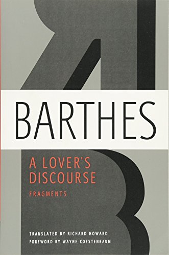 A Lover's Discourse: Fragments