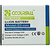 Coolreall 1500mAh Remplacement batterie pour Samsung Galaxy S3 Mini I8190(NFC NON Capable)