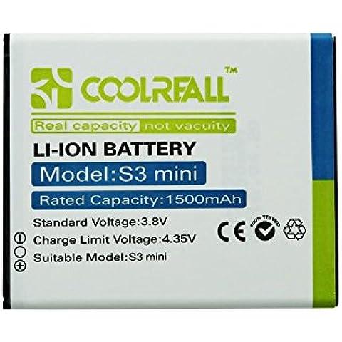 Coolreall –1500 mAh Batería para Samsung Galaxy S3 Mini (Li-ion,3.8v)