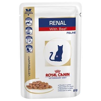 Preisvergleich Produktbild Royal Canin Renal Katze Nassfutter Rind 12 x 100g