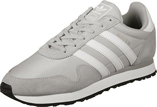 adidas Unisex-Erwachsene Haven Sneaker Grau (Lgh Solid Grey/Footwear White/Clear Granite)