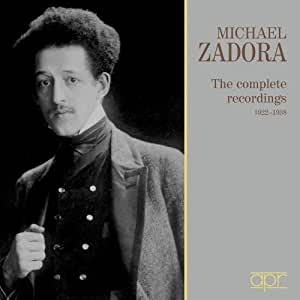 Zadora:The Complete Recordings (Including works by Chopin/  Liszt/ Brahms/ Rubinstein/ Prokofiev)