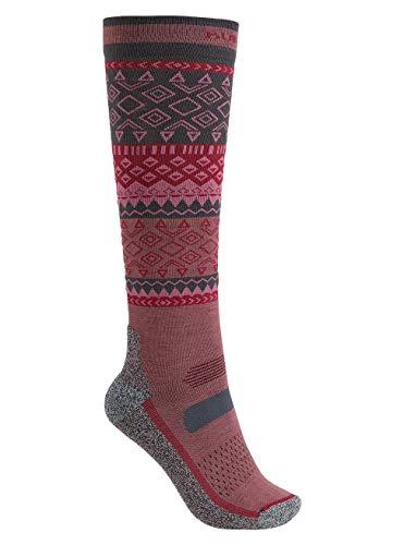 Burton Damen Performance Ultralight Snowboard Socken, Rose Brown, S/M | 09009521105356
