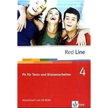 Red Line. Unterrichtswerk für Realschulen / Fit für Tests und Klassenarbeiten: Vorbereitung auf Kompetenztests und Lernstandserhebungen. Arbeitsheft mit CD-ROM 8. Schuljahr