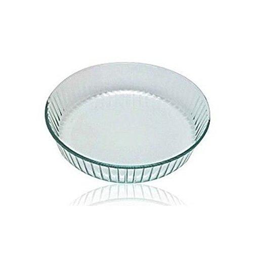 Pyrex Quiche/Flan Dish, vidrio, 26 cm