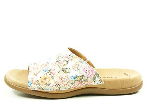 Gabor Damen Pantoletten - Mehrfarbig Schuhe in Übergrößen, Größe:42