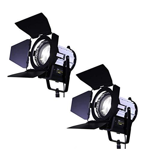 Studio Reflector x2 Regulable 650W Fresnel Tungsteno Fotografía Profesional De Iluminación