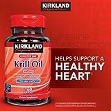 Kirkland Signature Krill Oil 500 mg, 160 Softgels