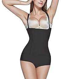 BARGOOS Femme Underbust Corset Culottes Sculptantes Body Gainant  Amincissants Sculptants Corsets Bustiers Lingerie Minceur Body Shaper d8b73f96204