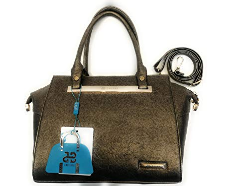 j BLUES Pebble Grey Handbag for Women