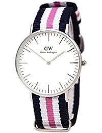 Daniel Wellington Damen-Armbanduhr Southampton Analog Quarz Nylon DW00100050